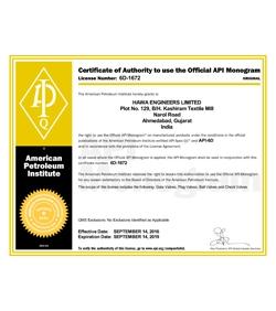 Certificate 6D-1672