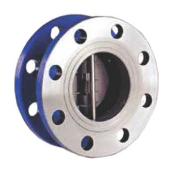 Dual Plate Double Flanged Check Valve Hawa Engineers Ltd